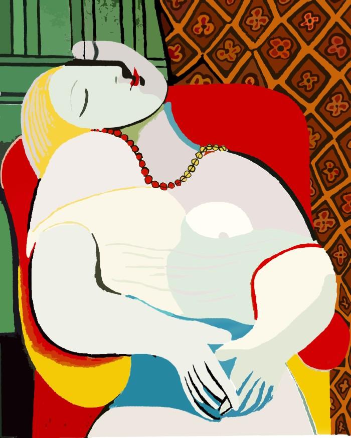 Le-Reve-by-Pablo-Picasso (2)