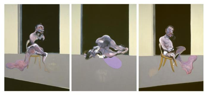 Triptych August 1972 1972 by Francis Bacon 1909-1992